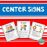 Pre K Center Signs