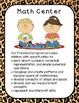 Preschool Center Signs--Leopard Theme