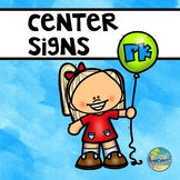 Small Preschool Center Signs