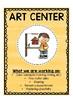 Preschool Center Signs with Descriptions-RAINBOW