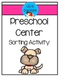 Preschool Center - Sorting Activity
