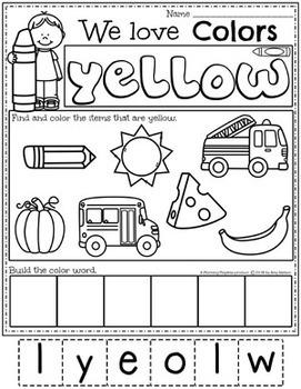Preschool Centers - Color Theme