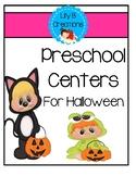 Preschool Centers For Halloween