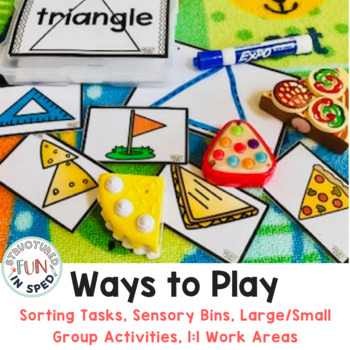 Preschool Centers Shape Task Kits for Early Childhood, Pre-k, and Special Needs