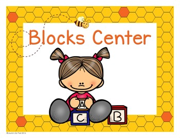 Preschool Centers Signs Busy Bee Hive