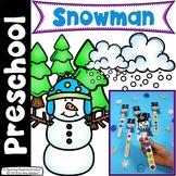 Preschool Centers - Snowman Theme