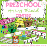 Preschool Centers - Spring Themed