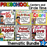 Preschool Centers and Circle Time - Bundle #1