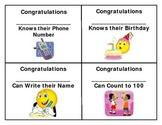 Preschool Certificates Set #2