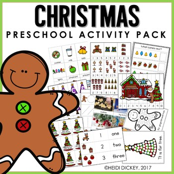 Preschool: Christmas Learning Pack