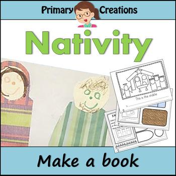Christmas Nativity Preschool and PreK Literacy Activity