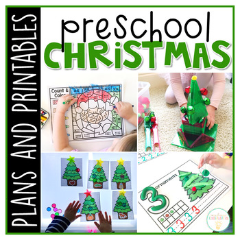 Preschool: Christmas {Plans and Printables}