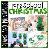 Preschool: Christmas {Plans and Printables}