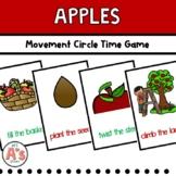 Preschool Circle Time | Apple Activities | Movement
