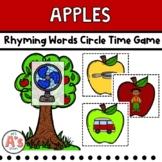 Preschool Circle Time | Apple Activities | Rhyming Words