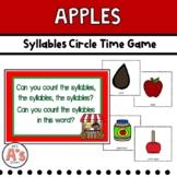 Preschool Circle Time | Apple Activities | Syllables