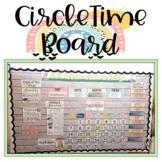 Preschool Circle Time Board - Weekly Focus