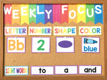 Preschool Circle Time Bundle