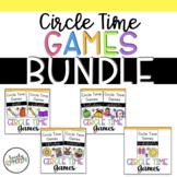 Preschool Circle Time Games Bundle