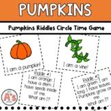 Preschool Circle Time   Pumpkin Activities   Riddles