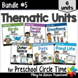 Preschool Circle Time Units 5