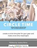 Preschool Circle Time Workshop