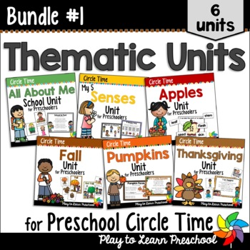 Preschool Circle Time and Centers 1