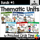 Preschool Circle Time and Centers 3