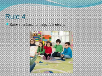 Preschool Circle Time and Library Rules With Enhanced Activities and Info