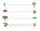 Preschool Circus Beginning Writing Practice English/Spanis