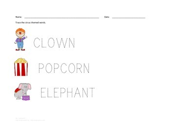 Preschool Circus Learning Download