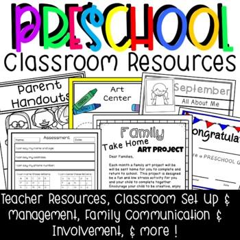 Preschool Classroom Management Resources