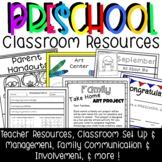 Preschool Classroom Set Up Resources