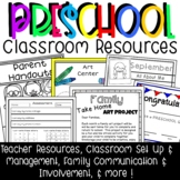 Preschool Classroom Management Resources