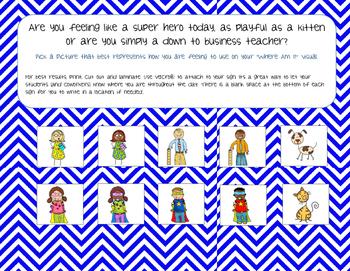 Preschool Classroom Signs