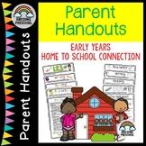 Preschool Closure - Distance learning ideas