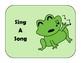 Preschool Code Cards