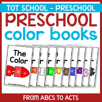 Preschool Color Books