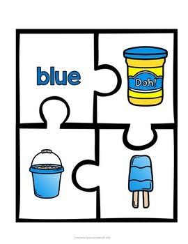 Preschool Colors and Shapes Unit