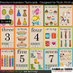 Preschool Colors, Numbers, and Animals flashcards (designe