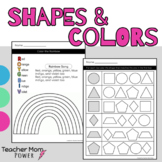 Preschool Colors and Shape Names (Tracing & Recognition Wo