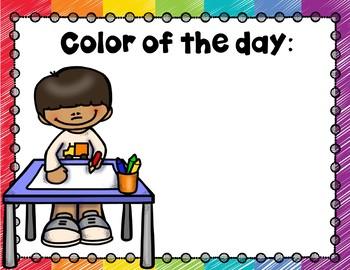 Preschool Colors and Shapes