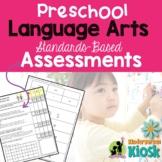 Preschool Language Arts Assessment Pack: Preparing for K!