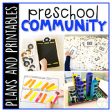 Preschool: Community {Plans and Printables}