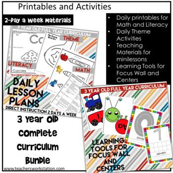 Preschool Complete Curriculum - 3 Year Olds