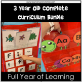 Preschool Complete Curriculum - 3 Year Olds