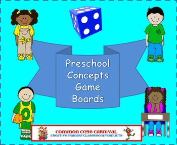 Preschool Concepts Board Games