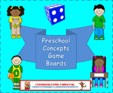 Preschool Concepts Board Games