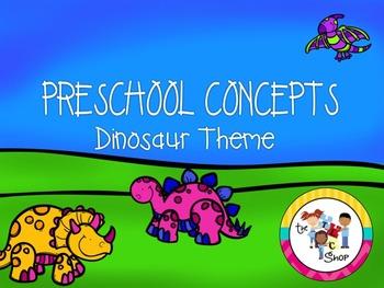Preschool Concepts: Dinosaur Theme