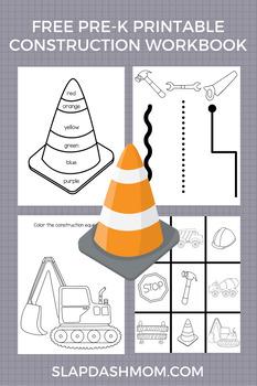 Preschool Construction Workbook